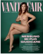 Copertina del settimanale Vanity Fair con Vanessa Incontrada che posa nuda